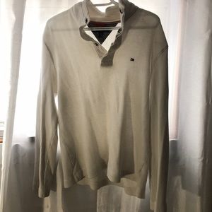 Tommy Hilfiger button up sweater